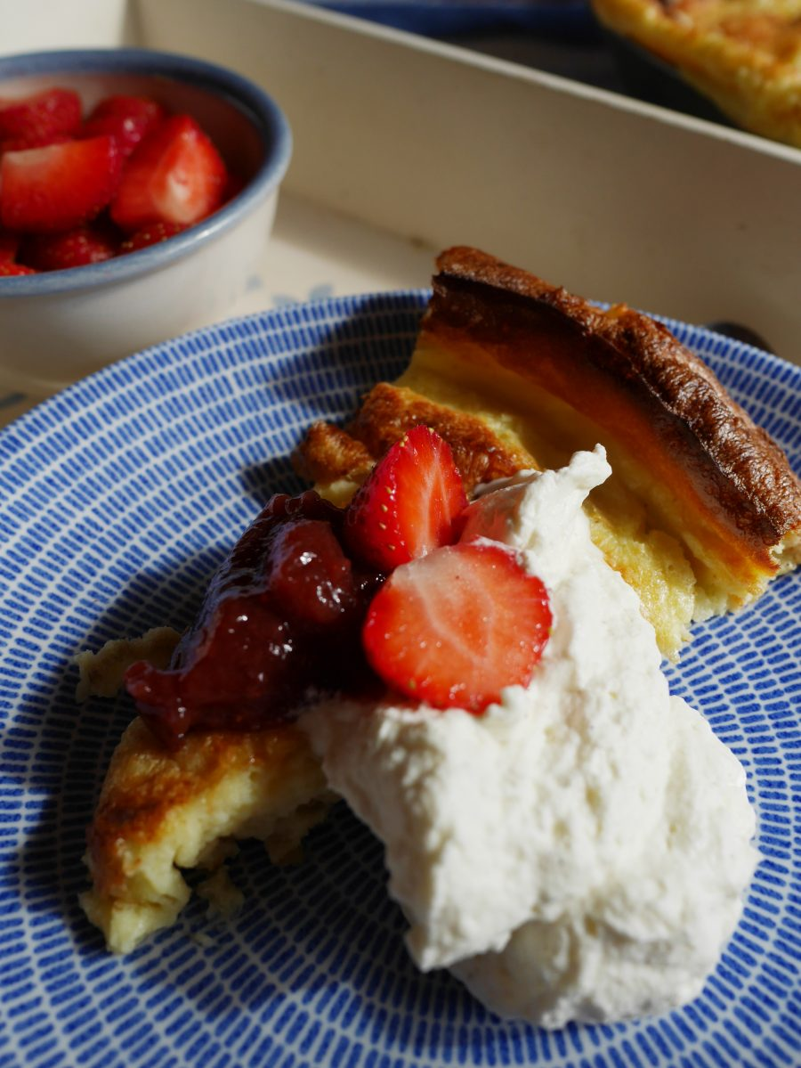 Finnischer Ofenpfannkuchen