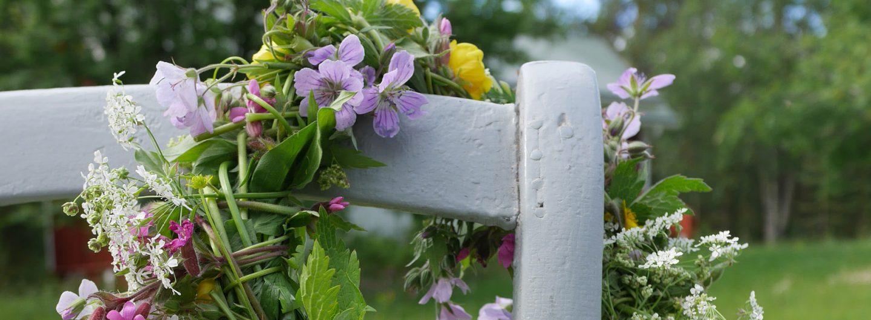 Mittsommer Blumenkranz