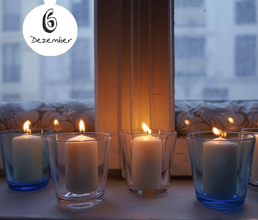 weiße Kerzen