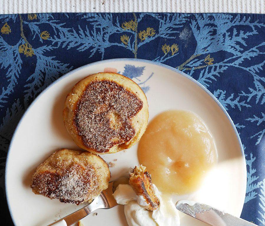 Schwedische Küche Pfannkuchen