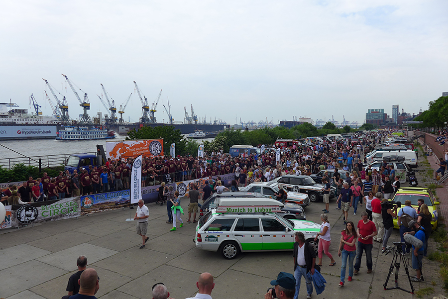 Start Baltic Sea Circle Rallye