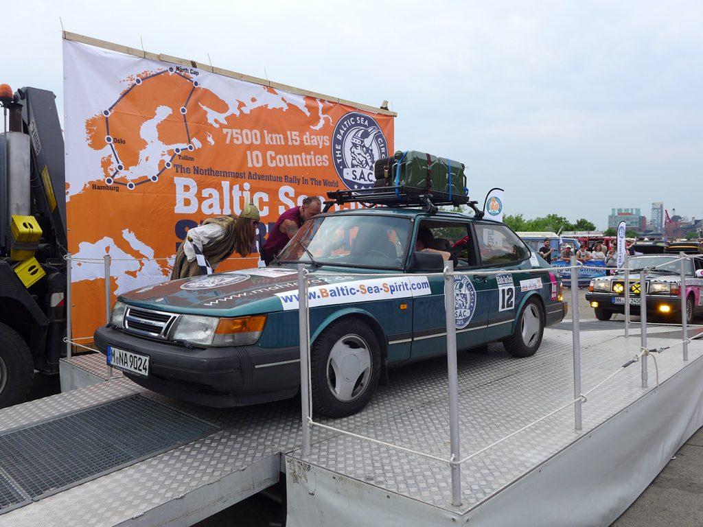 Start der Rallye
