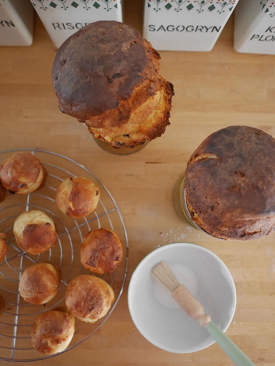 Russisches Osterbrot