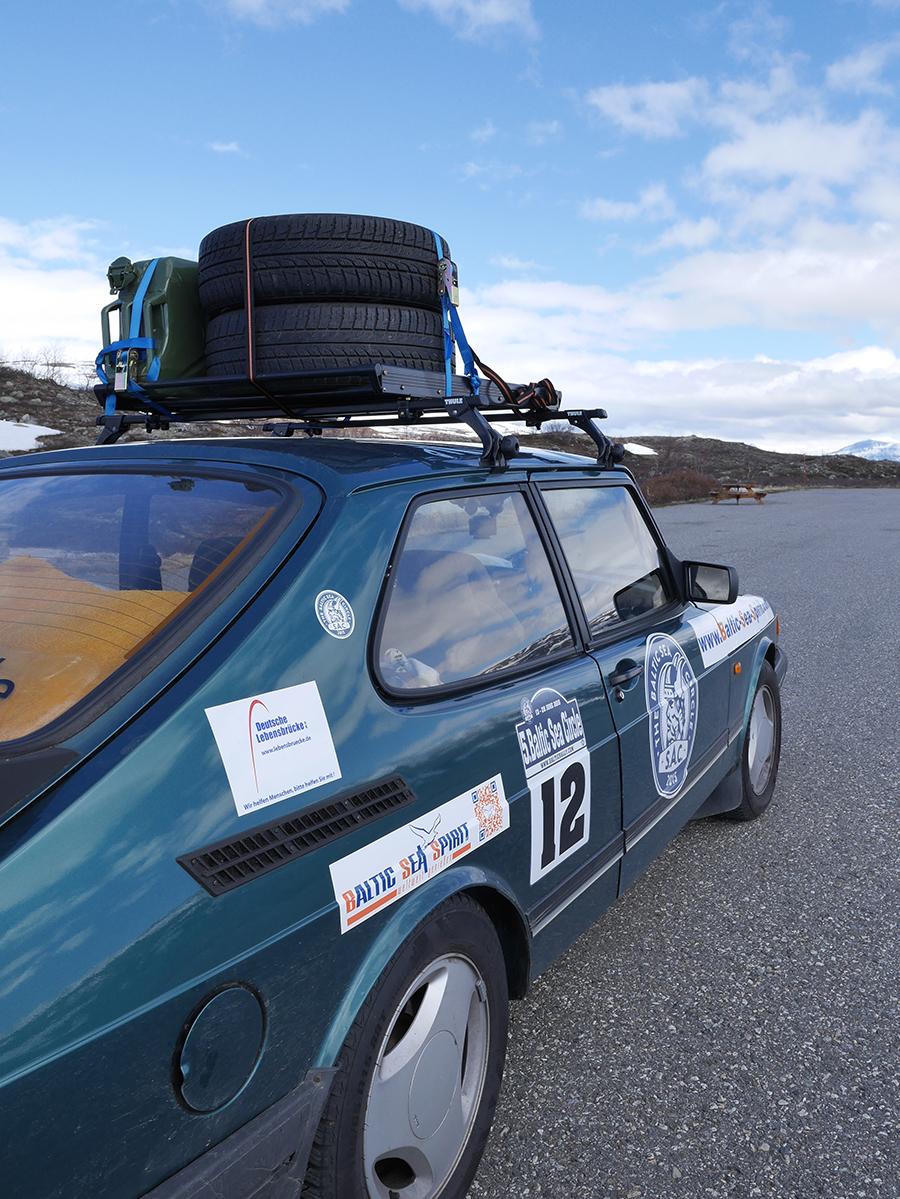 Rallye Saab 900