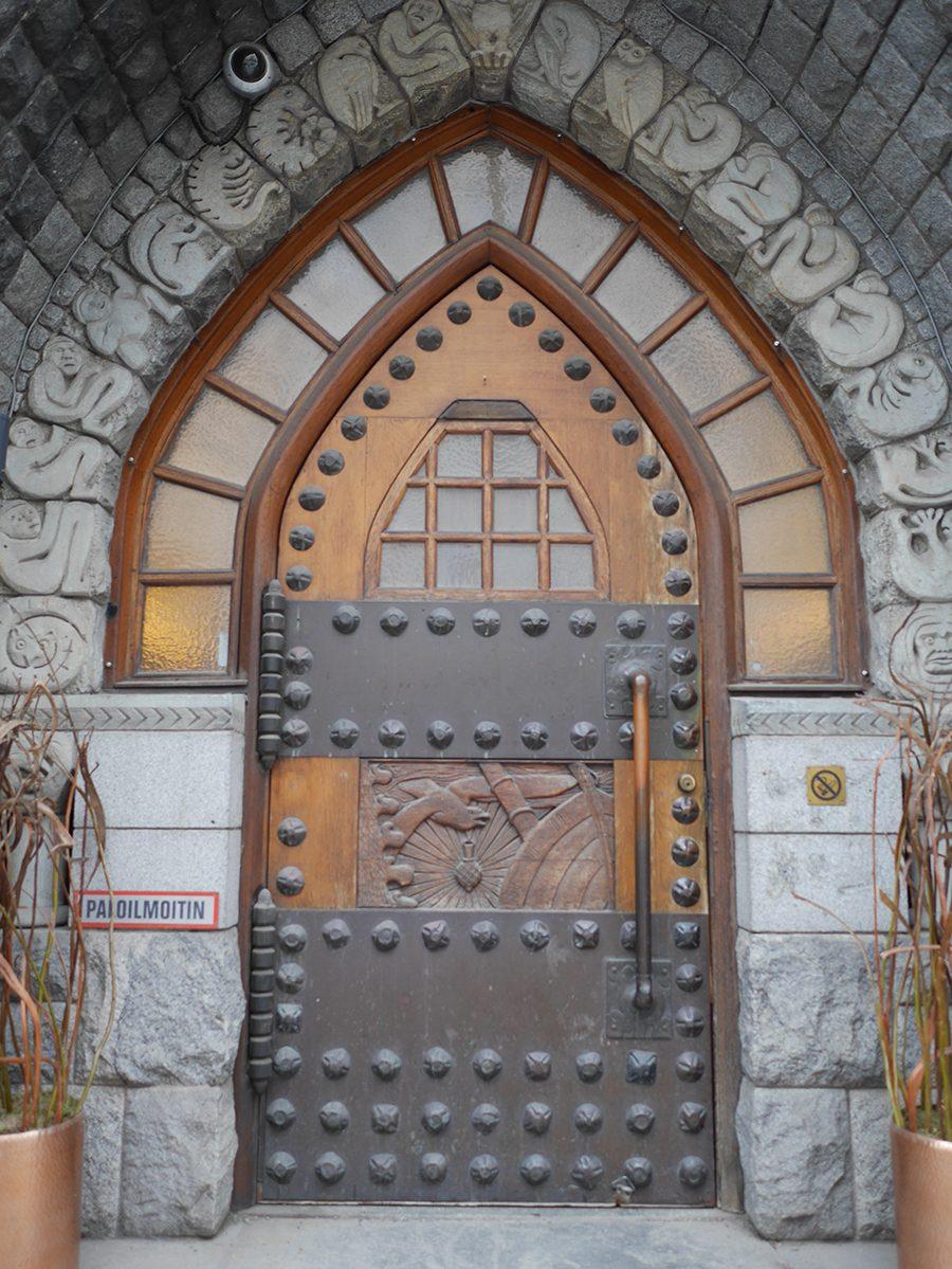 Eingang Hotel GLO