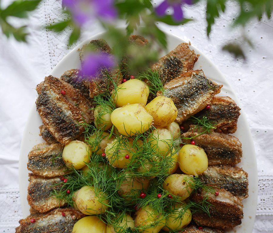 Finnisches Rezept Silakkapihvit
