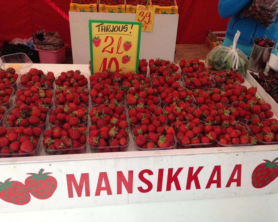 finnische Erdbeeren