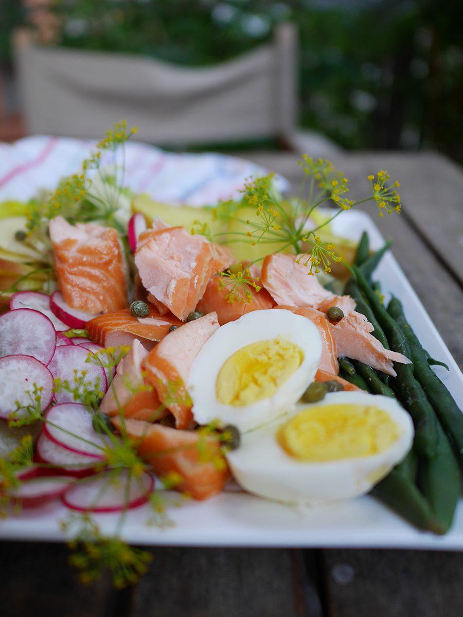 Salade nordique