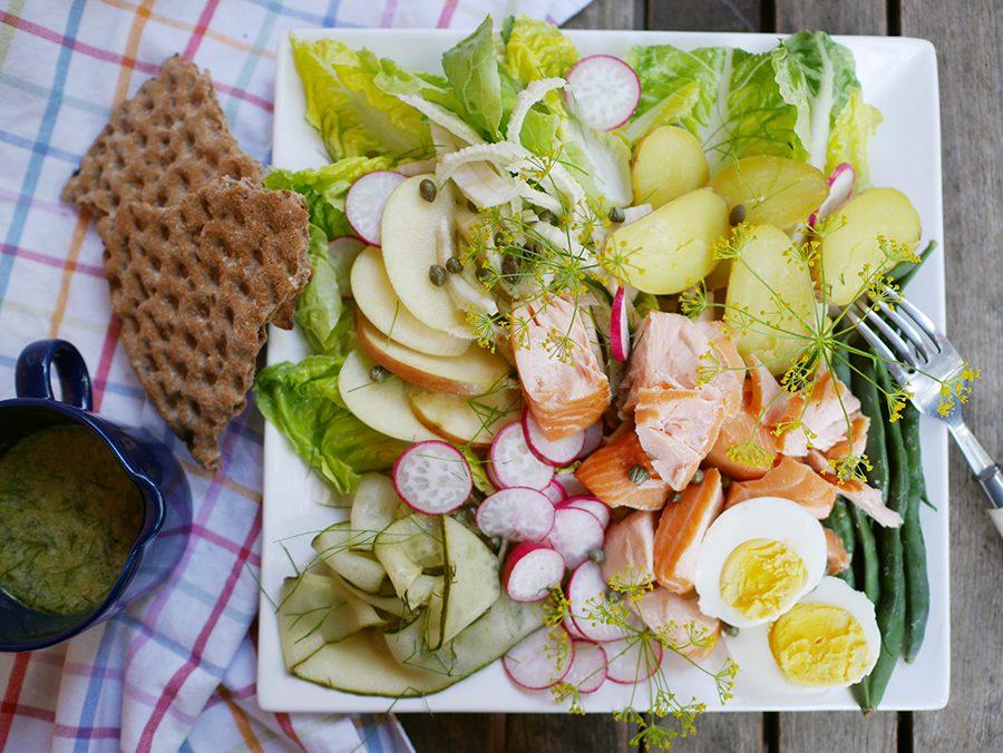 Nordischer Salat
