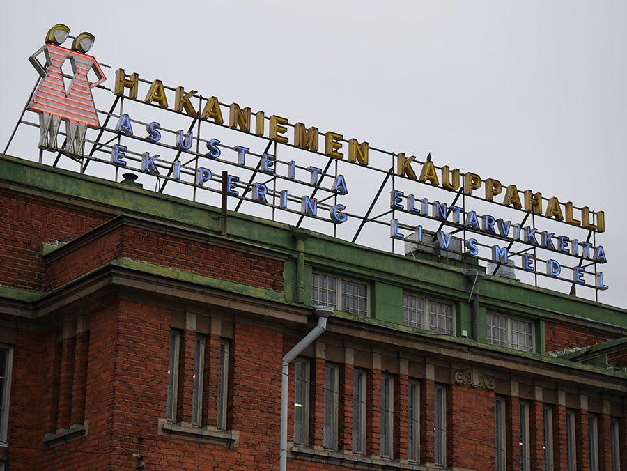 Hakaniemi Markthalle Aussenansicht