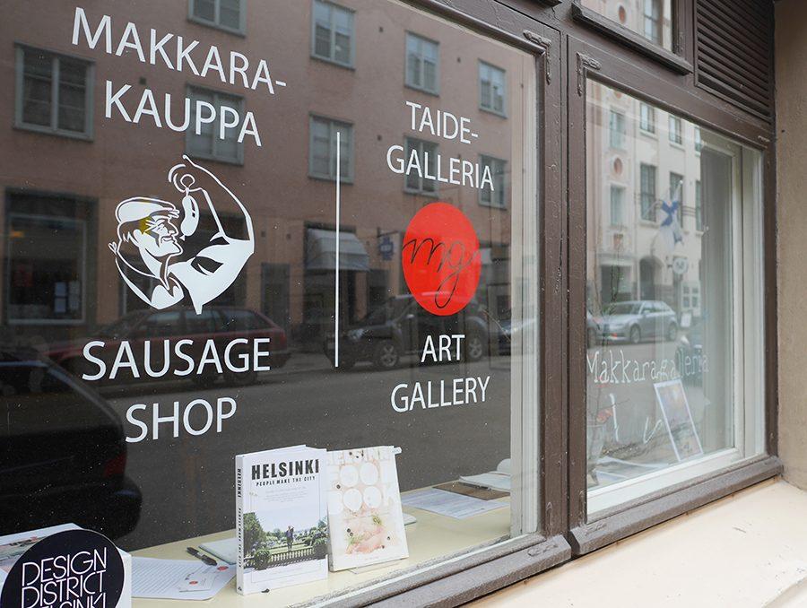 Schaufenster Helsinki