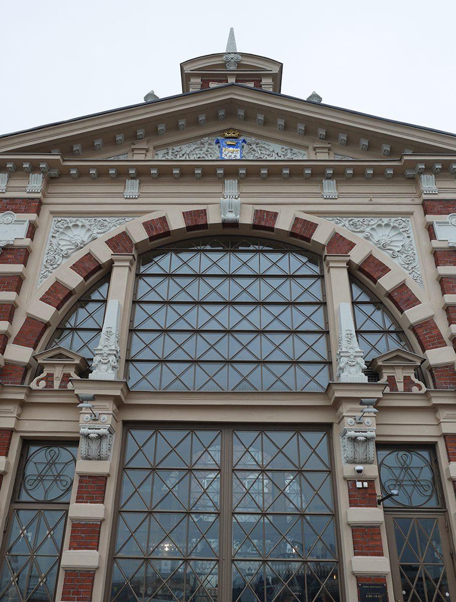 Helsinki alte Markthalle Aussenansicht