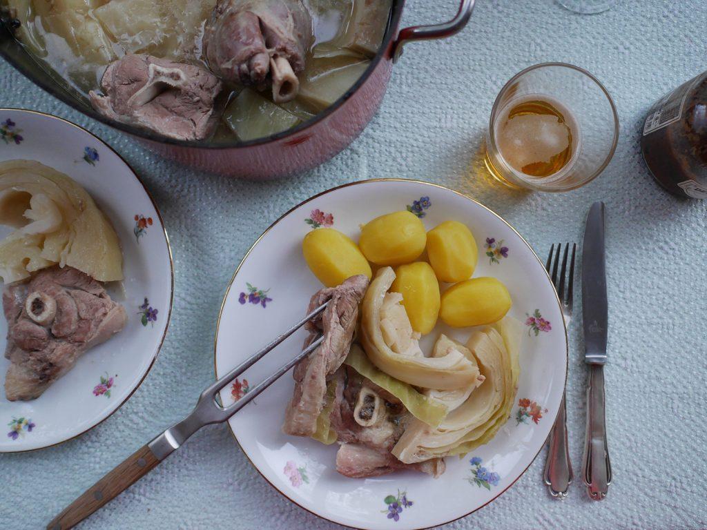 Norwegischer Lammeintopf
