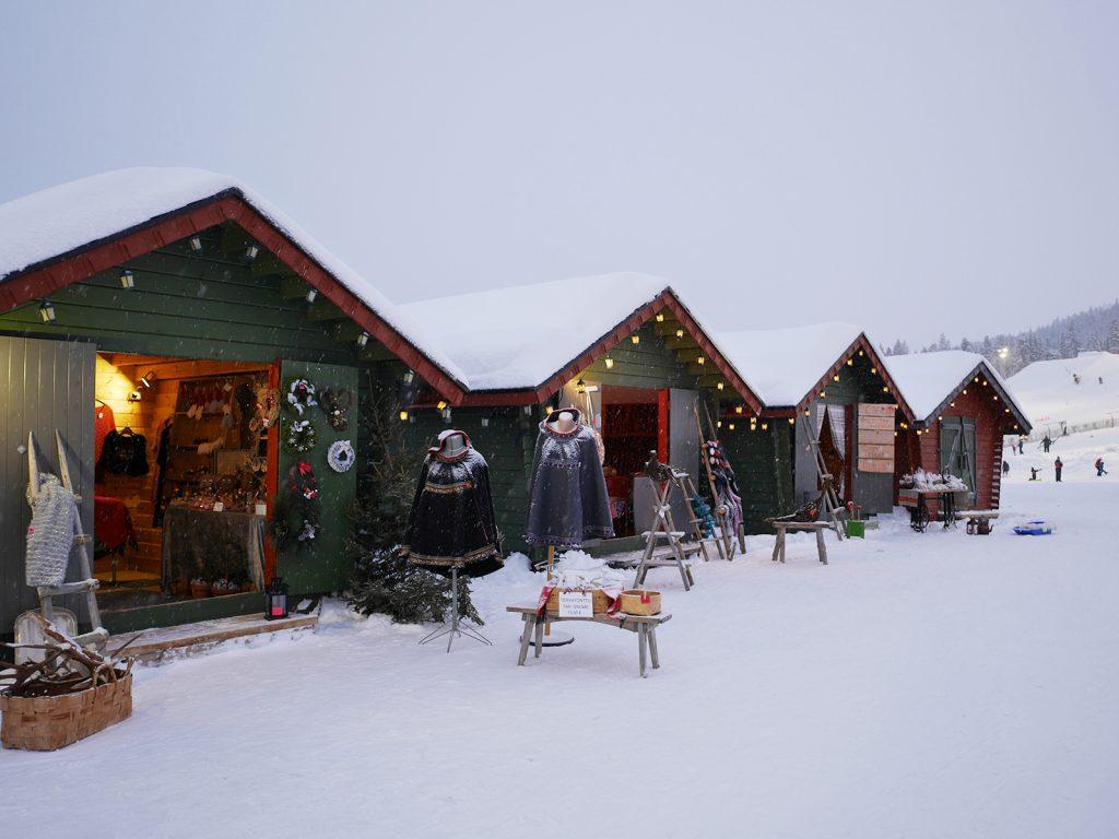 Weihnachtsbuden Finnland