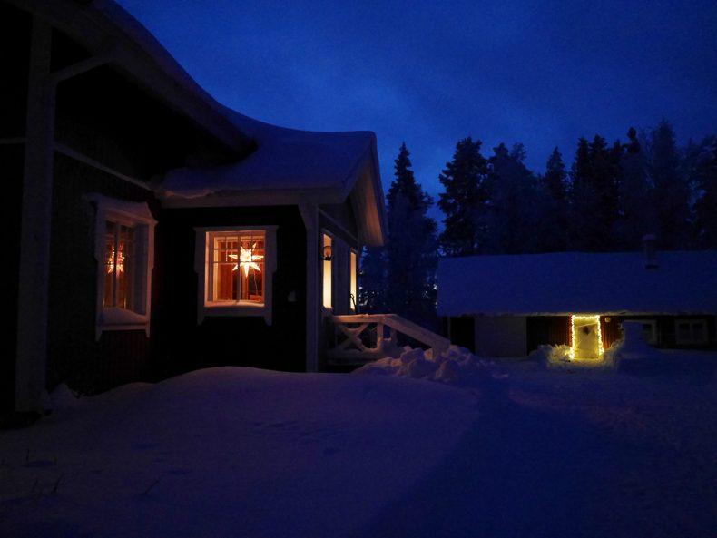 Nachts am Polarkreis