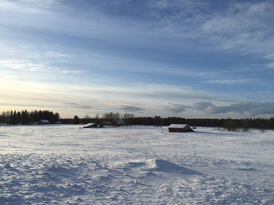 Flühling in Lappland