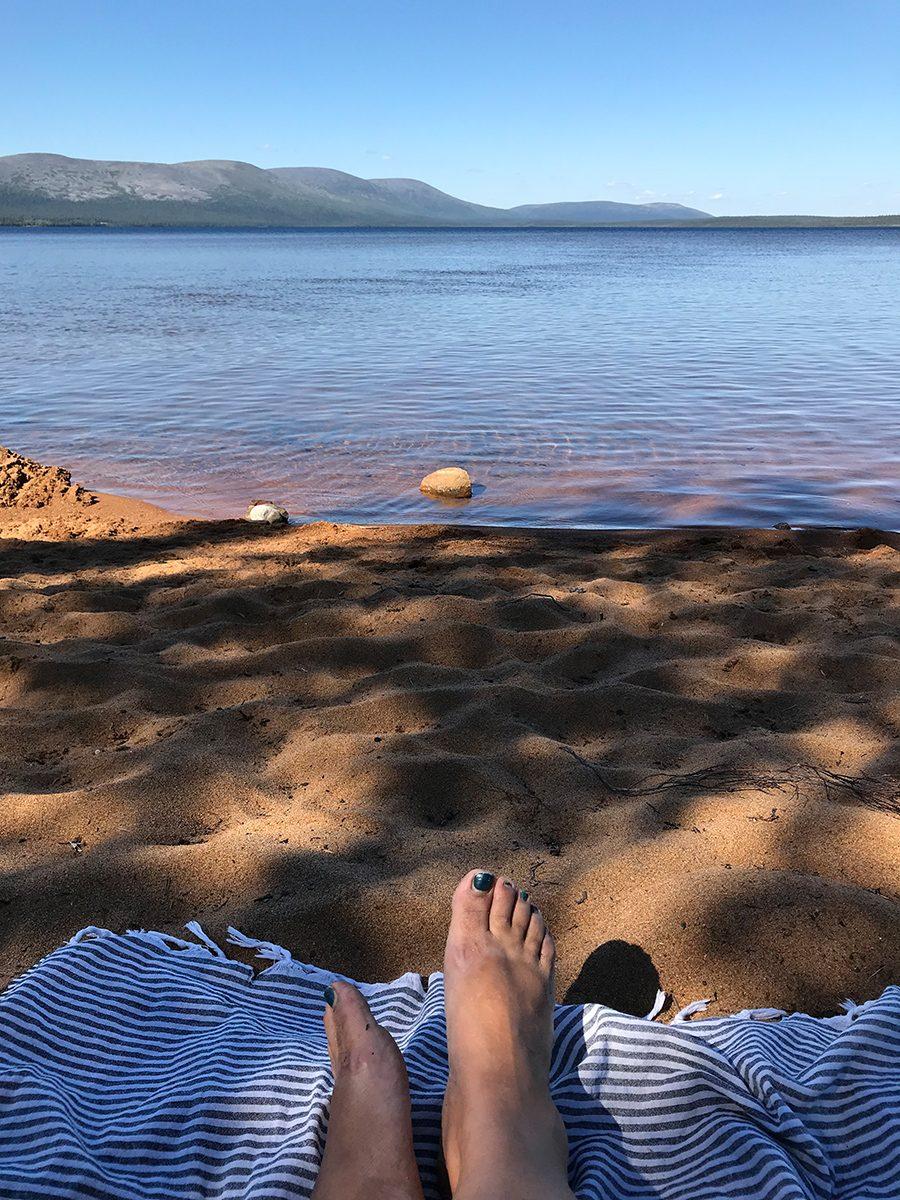Strand Pallasjärvi