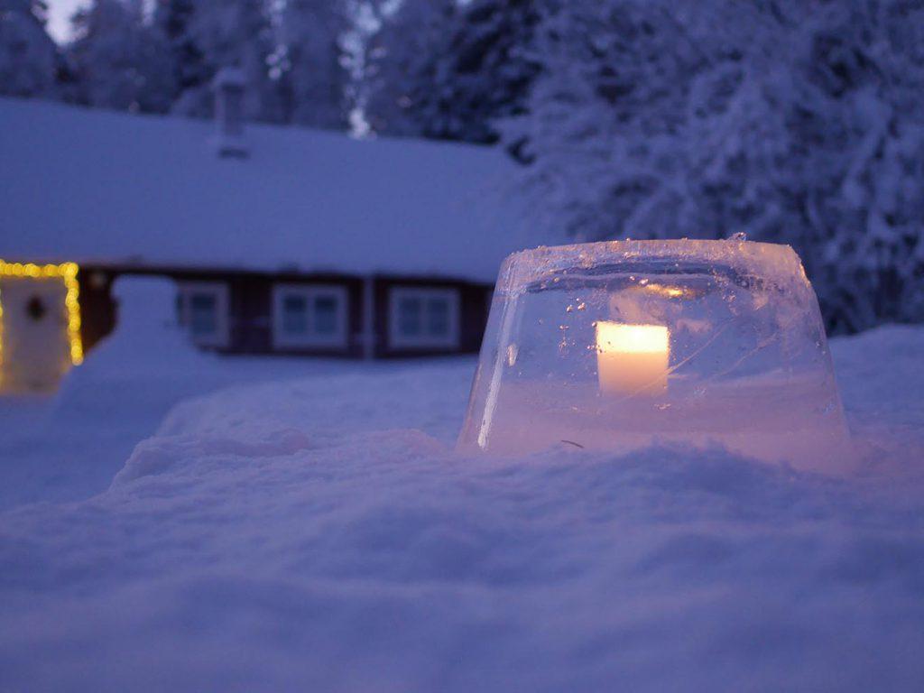 Finnisches Eislicht