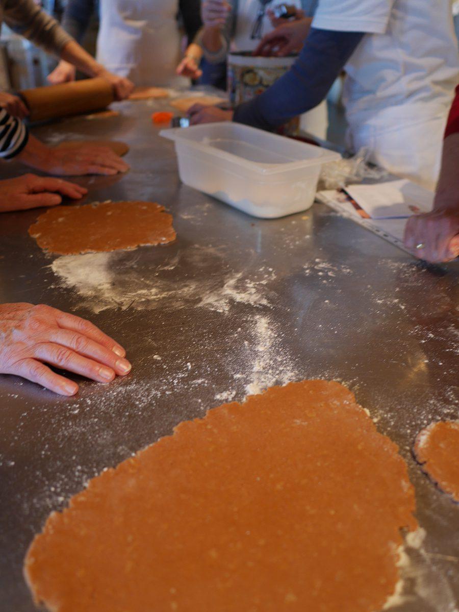 Pfefferkuchen ausstechen