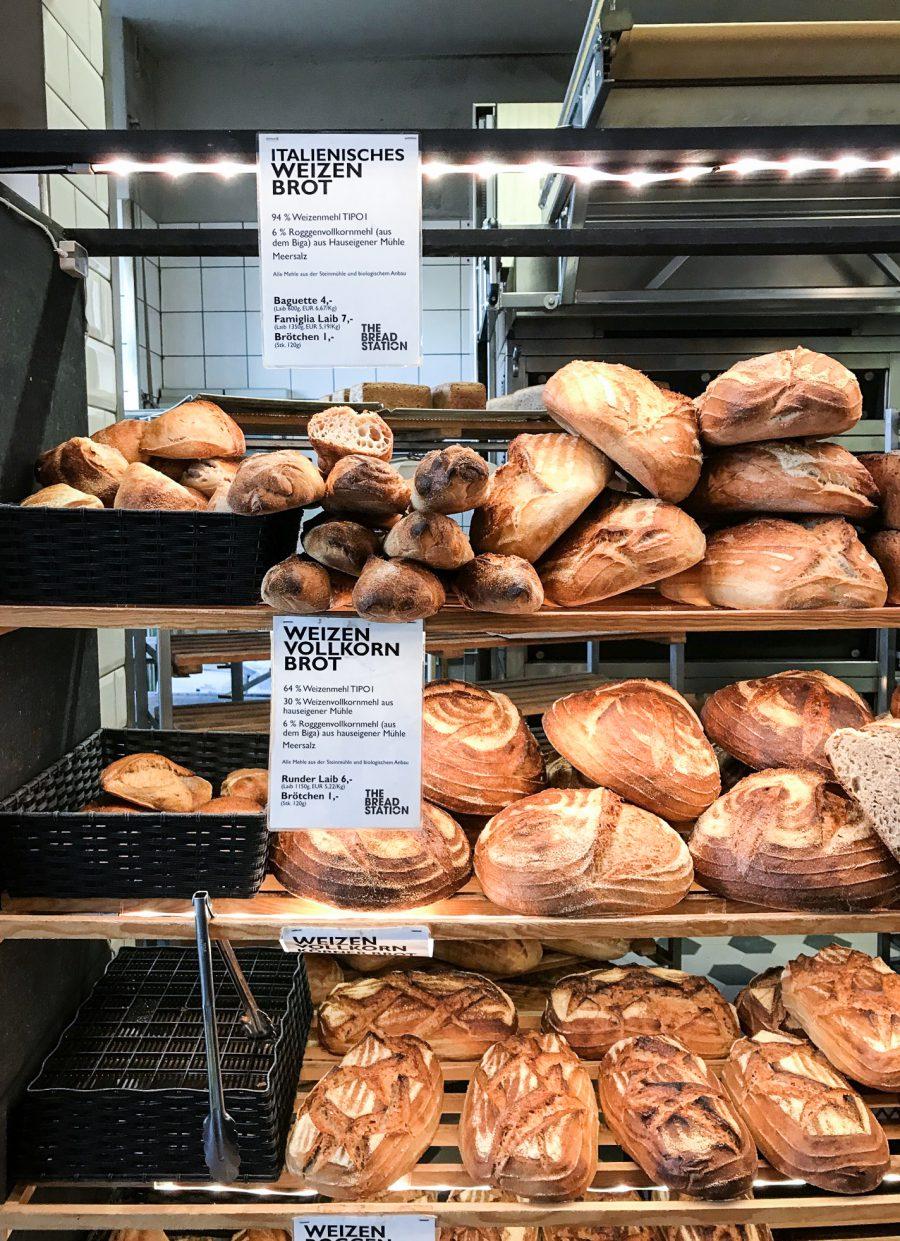 frische Brote