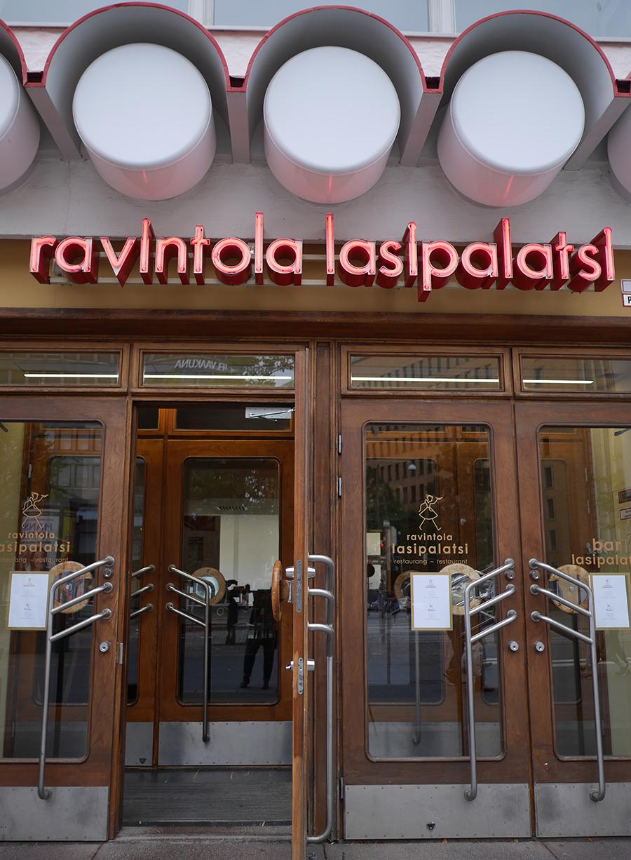 Lasipalasti Restaurant