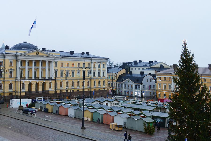 Helsinki Weihnachtsmarkt