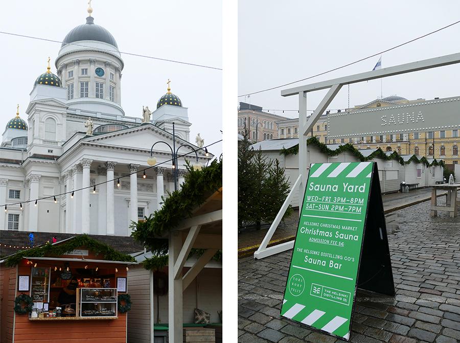 Weihnachtszeit Helsinki