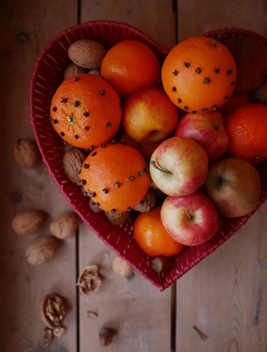 Orangen Nelken
