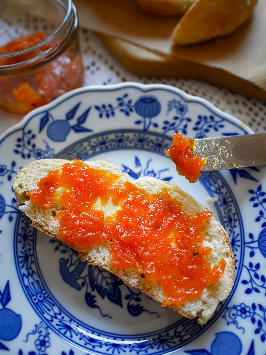 norwegische Karottenmarmelade