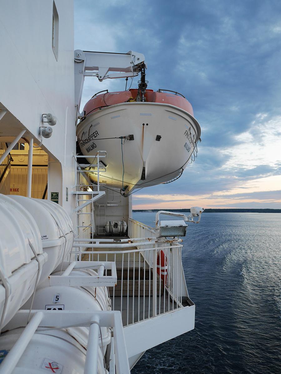 Fähre auf der Ostsee