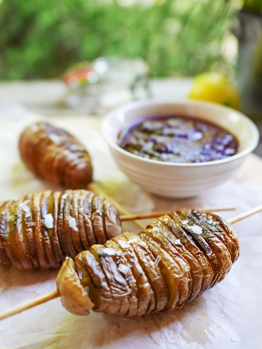 Schwedische Hasselbackkartoffeln