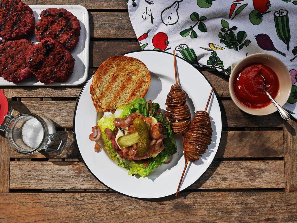 Skandinavisches Rezept Lindström Burger