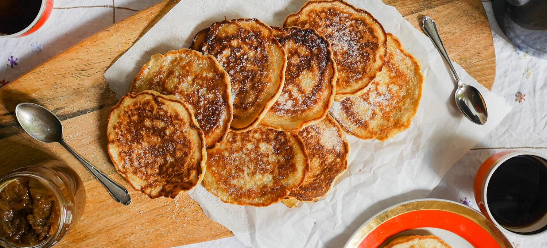 Lummur isländische Pfannkuchen