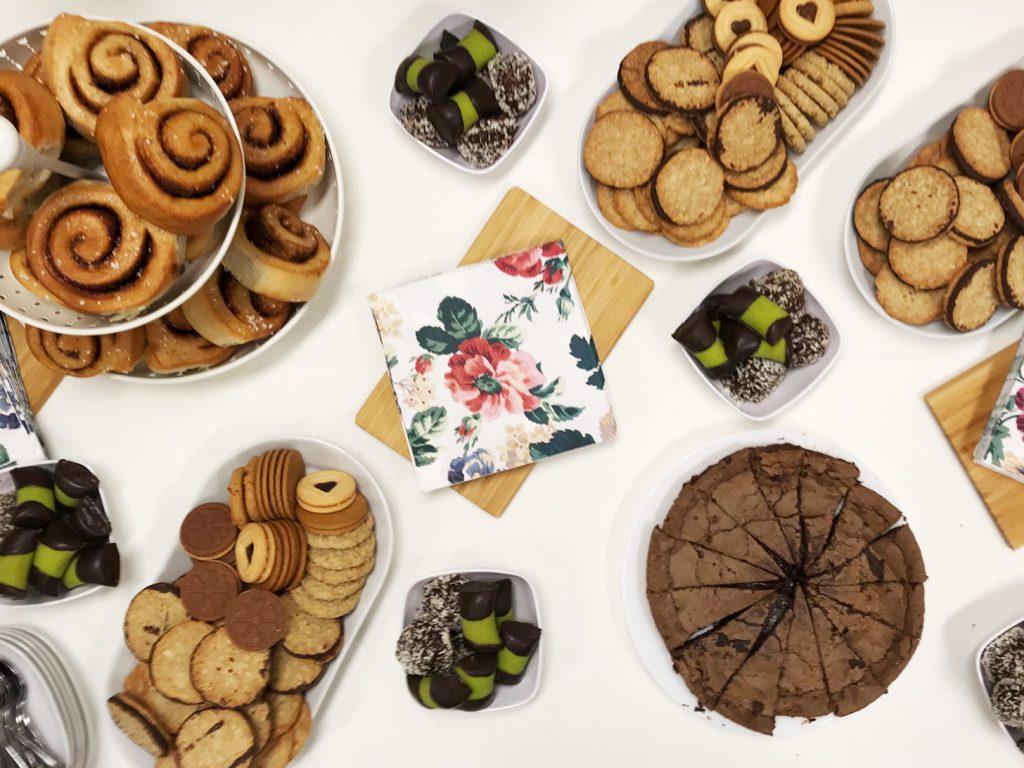 schwedische Kekse und Kuchen