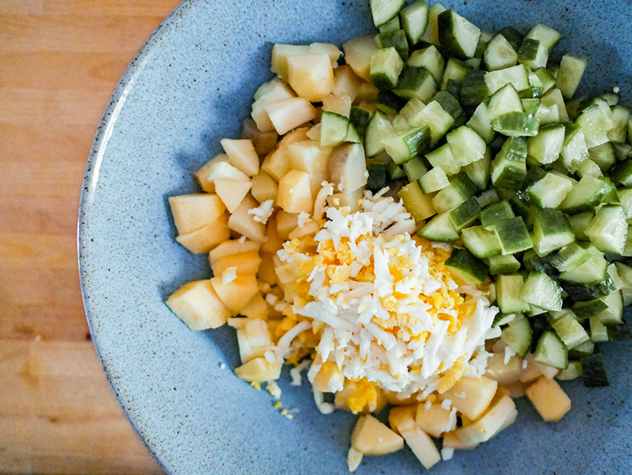 Estnischer Kartoffelsalat