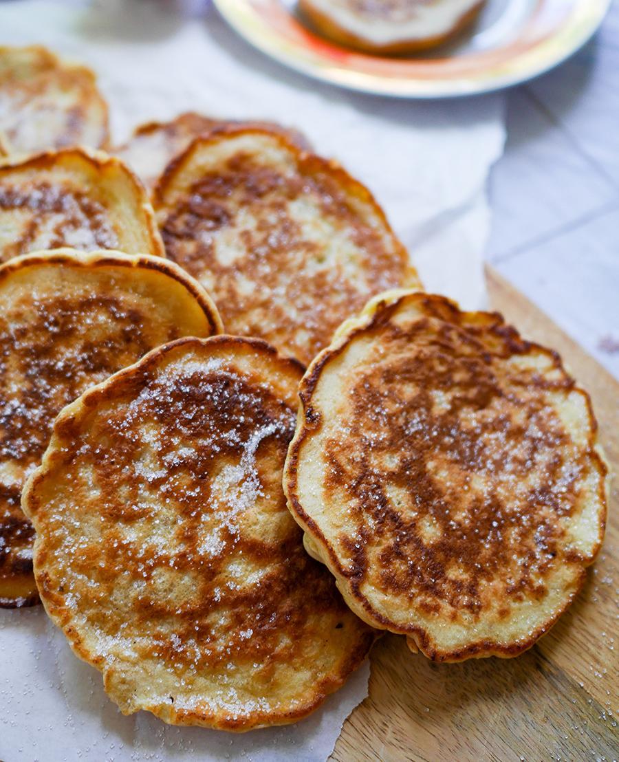 Campingküche Pfannkuchen