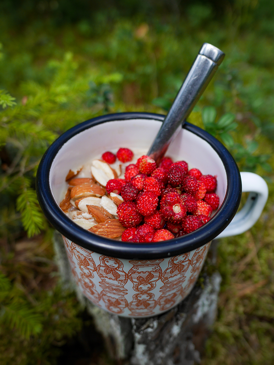 Campingküche Frühstück