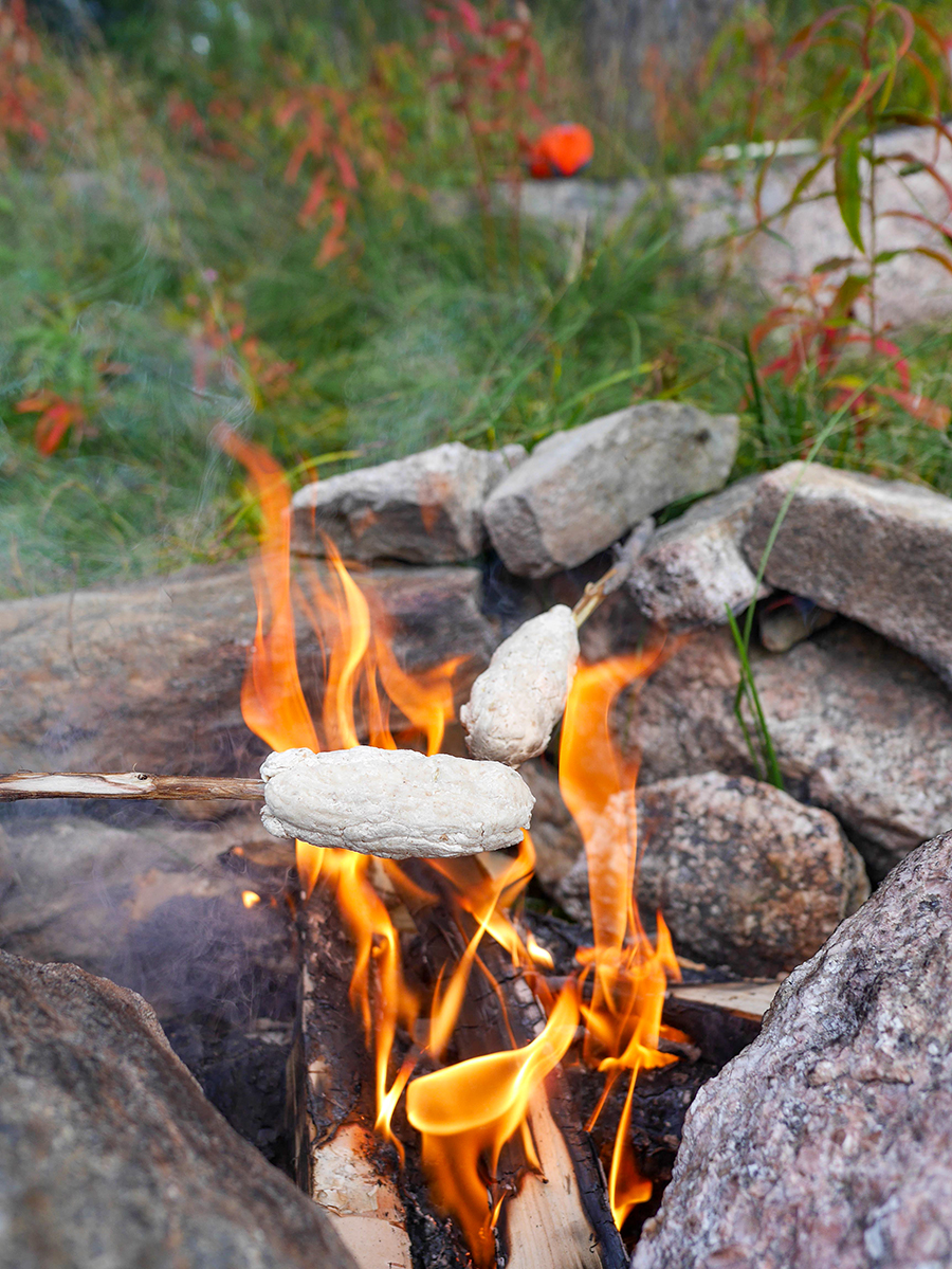 Lagerfeuer Stockbrot