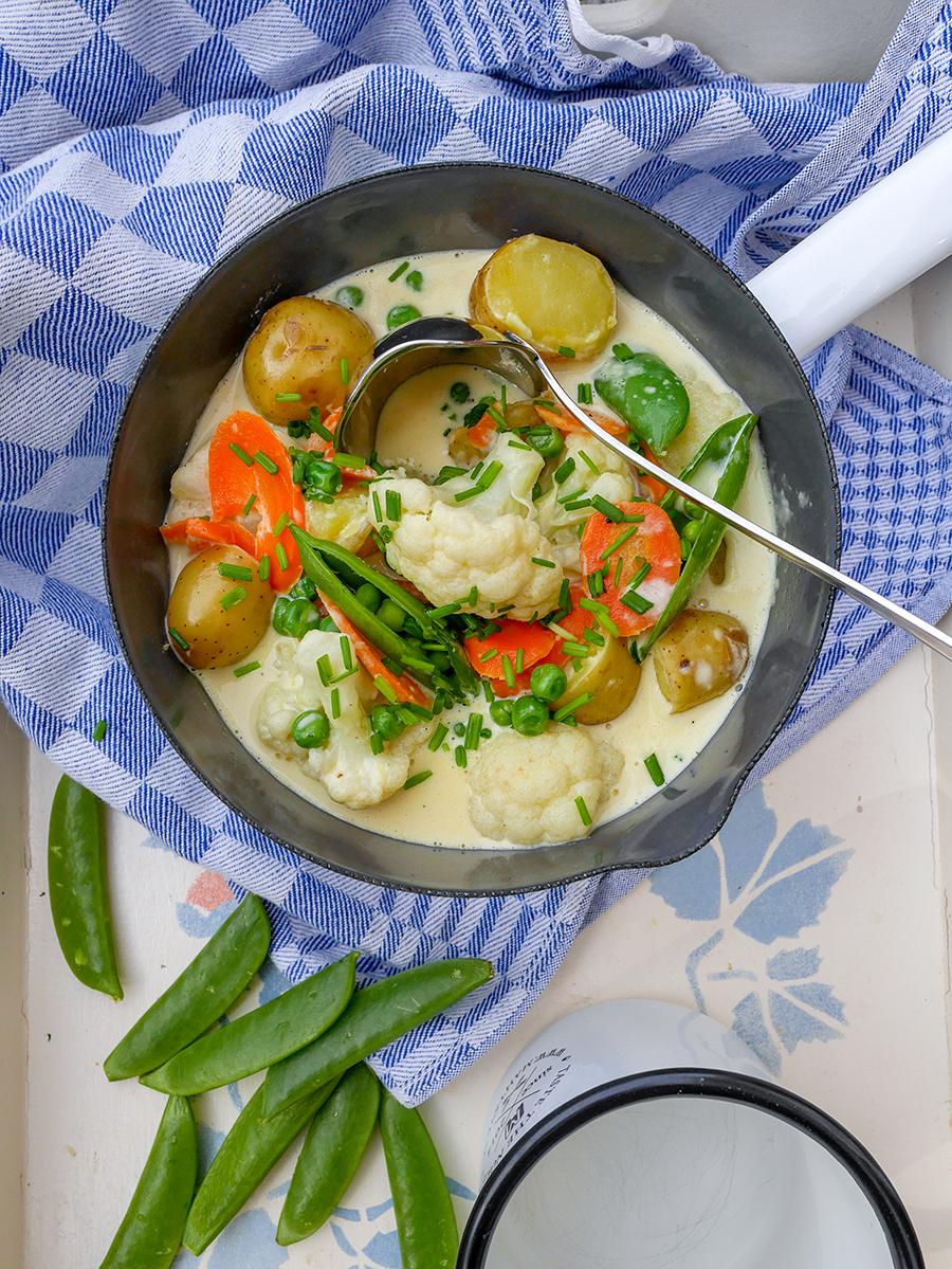 Schwedische Gemüsesuppe