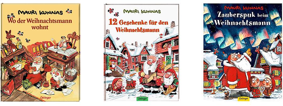 Weihnachtsmann Buch