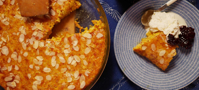schwedischer safranpfannkuchen