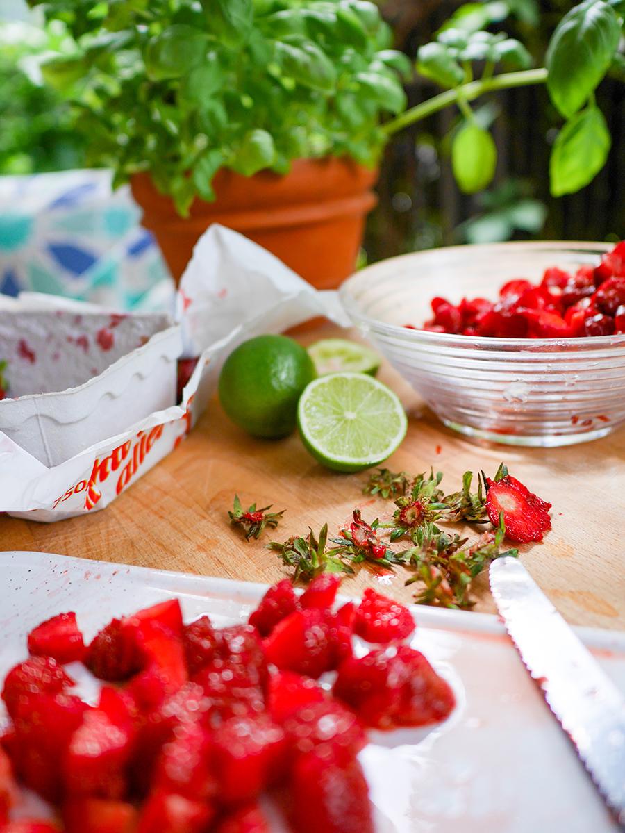 Erdbeersalsa