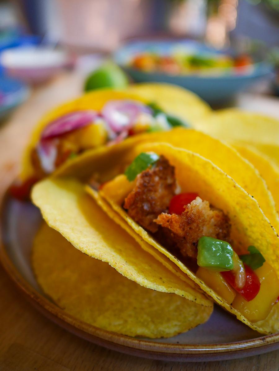 Tacoshells befüllen