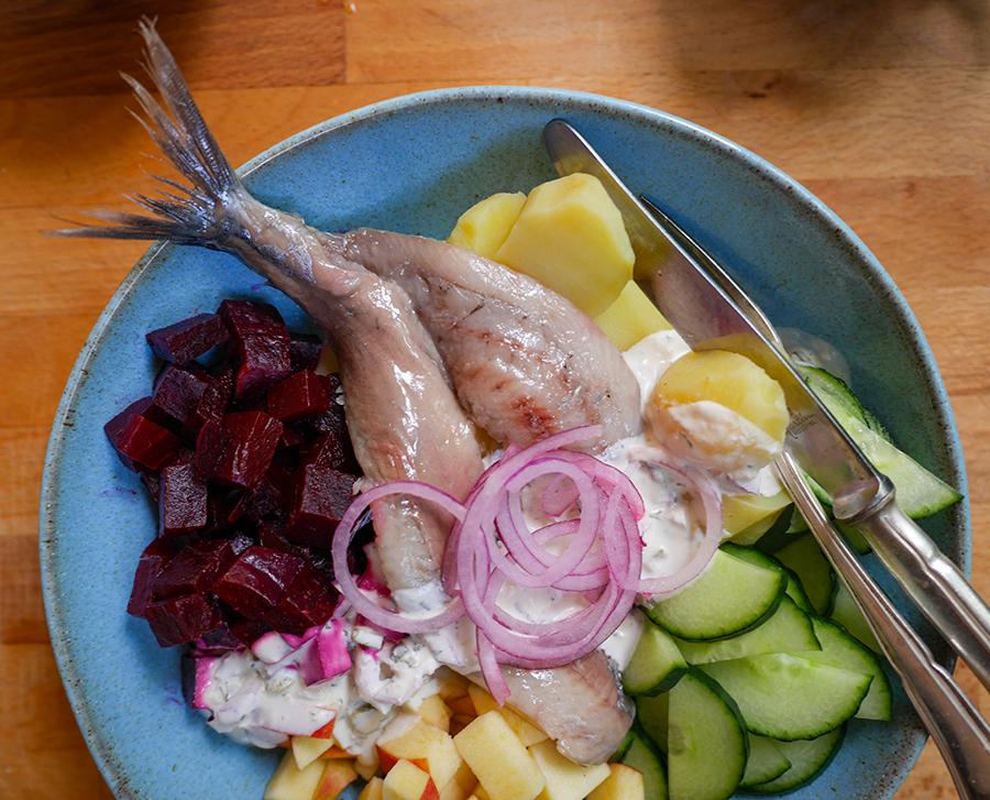 Skandi Bowl nordisches rezept