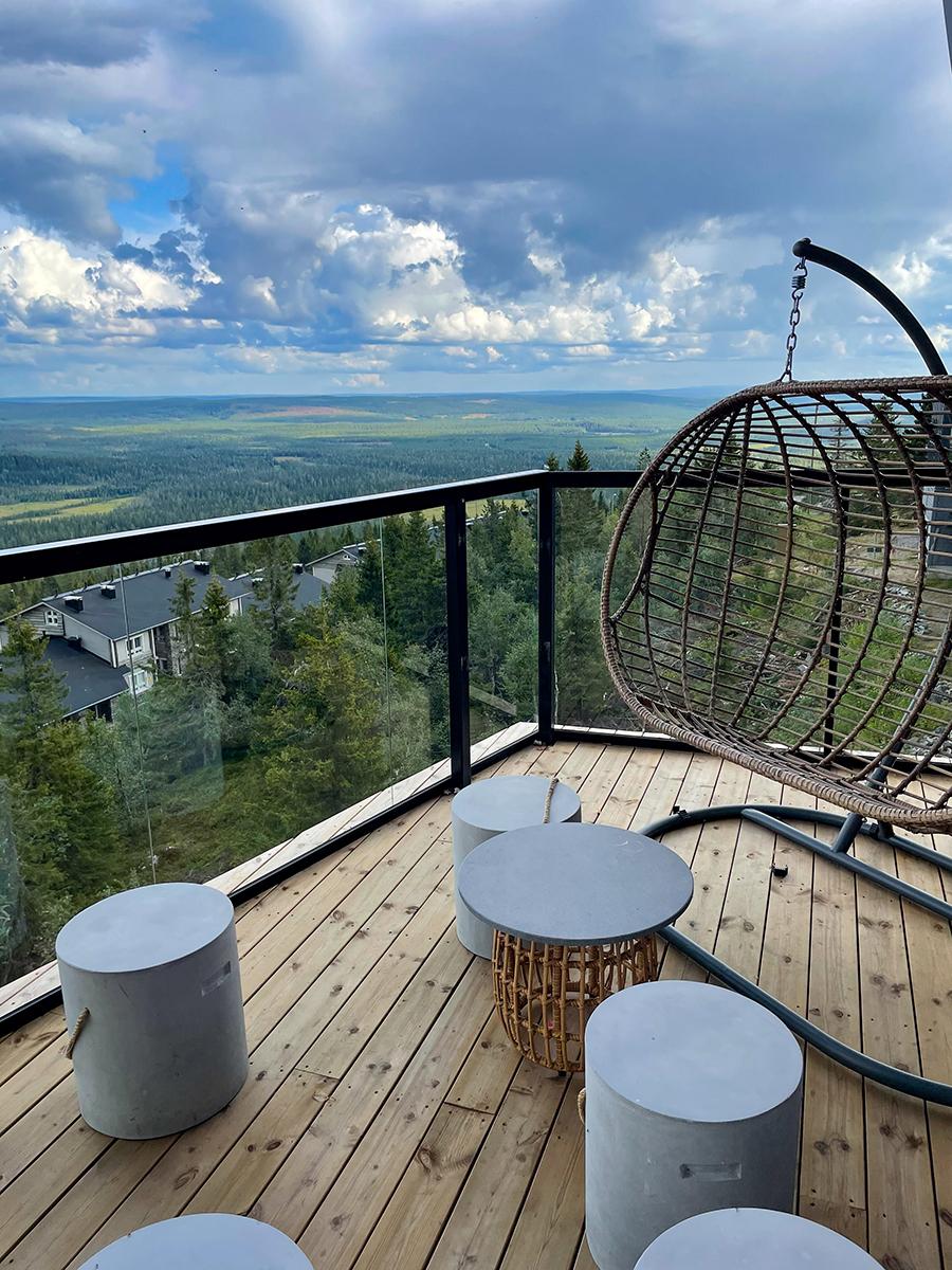 Hotel Iso Syöte Terrasse