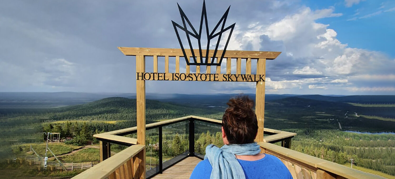 Hotel Iso Syöte Sky Walk