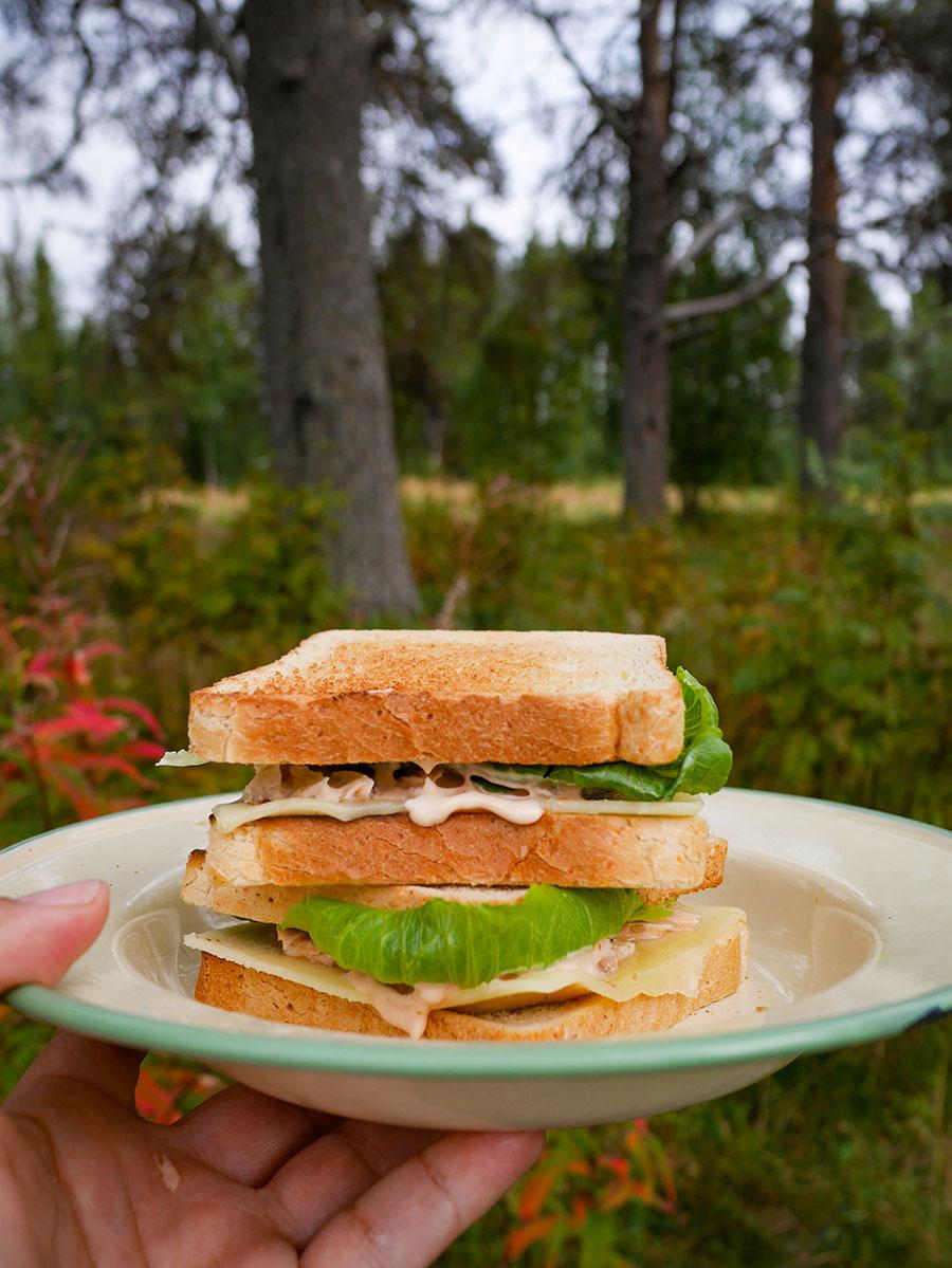 Rezept gegrilltes Fisch Sandwich
